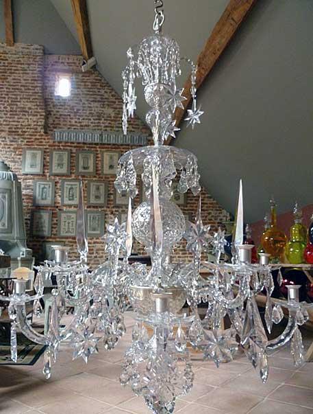 Anglais cristal de roche liégeois namurois vénitien autres